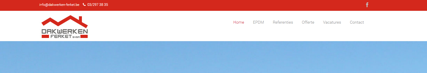 Responsive Website Voor Dakwerken-Ferket
