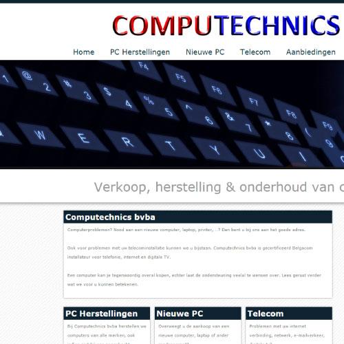 Website voor Computechnics bvba