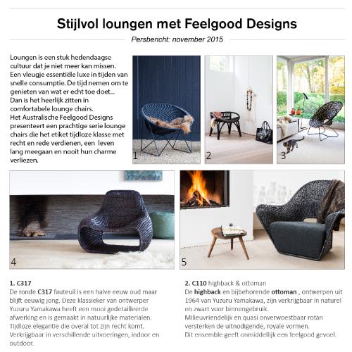 Persbericht grafisch ontwerp FeelgoodDesigns