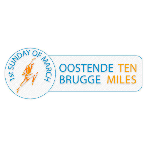 Logo oostende-brugge ten miles