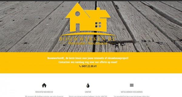 Responsive Website Voor BouwwerkenRC