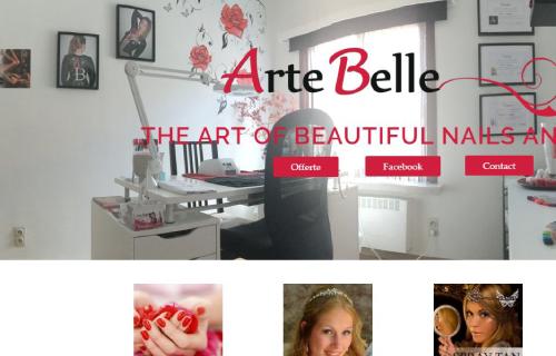 Responsive Website Voor ArteBelle