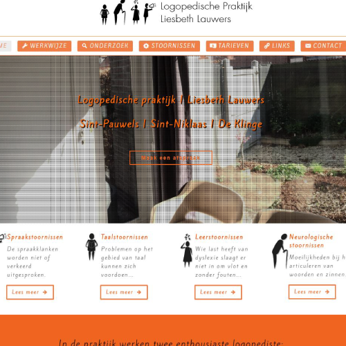 Responsive Website Voor Logopedie Liesbeth