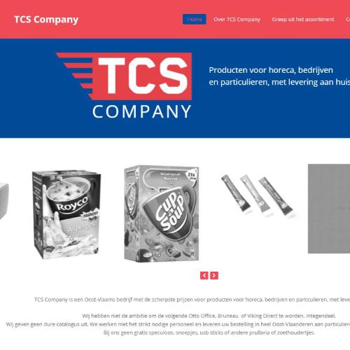 Webshop Voor Tcs-company